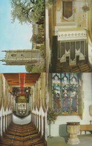 St Marys Church Dedham 1970s 4x Postcard