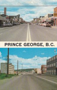 PRINCE GEORGE, British Columbia, Canada, 1940-1960's; 3rd Avenue, Shoe Strore