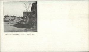 Leominster MA Mechanic St. c1905 Postcard
