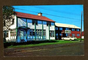ON Moosonee Lodge Hotel Motel ONTARIO CANADA POSTCARD