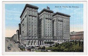 San Francisco, Hotel St. Francis