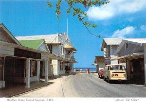 Grand Cayman Islands Post card Old Vintage Antique Postcard Shedden Road Unused