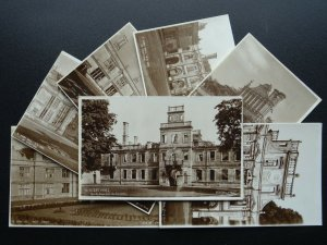 Northamptonshire KIRBY HALL Collection x 7 c1930s RP Postcard by H.M.O. of Works