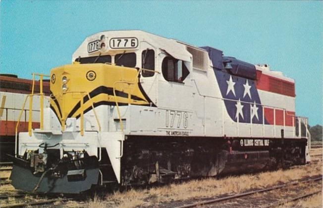Illinois Central Gulf Locomotive 1776