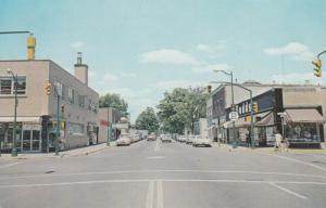 SIMCOE , Ontario, Canada, 1950-60s ; Norfolk Street