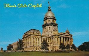 State Capitol Of Illinois Springfield Illinois