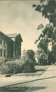 Library at Pomona College - Claremont CA, California