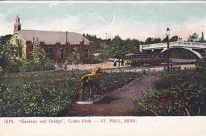Gardens and Bridge, Como Park, St. Paul, Minnesota, 00-10s
