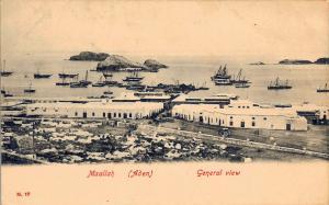 1905 Ma'allah / Maallah / Maalla Aden / Yemen Panoramic View