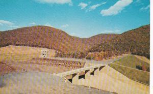 Pennsylvania George B Stevenson Dam Between Austin and Sinnemahoning