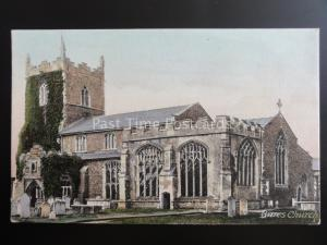 Suffolk BURES CHURCH - Old Postcard by Frith 45084