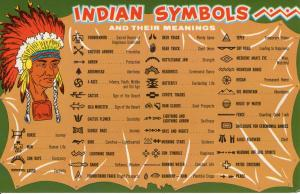 US    PC1395  INDIAN SYMBOLS AND THEIR MEANINGS