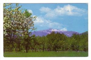 Snow capped Mount Washington, White Mountains, New Hampshire, Rudy's, Hudson