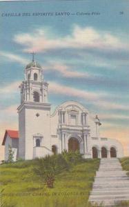 Mexico Capilla Del Espiritu Santo Holy Ghost Chapel