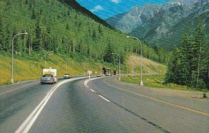 Canada Entering Glacier National Park British Columbia