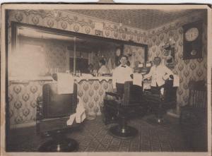 RP: Barber Shop Interior , 1890s-1900