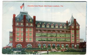 Old Point Comfort, Va., Chamberlain Hotel