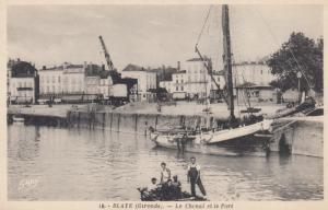 BLAYE , France , 00-10s ; Le Chenal et le Port