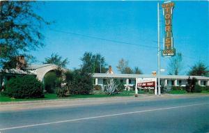 Sumter South Carolina~Steam Heat~Car Ports in Back~Tourist Lodge 1950