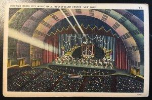 Colourpicture - New York City, Rockettes, Radio City, Vic's Stamp Stash