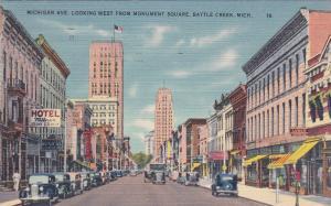 BATTLE CREEK , Michigan , 30-40s ; Michigan Avenue