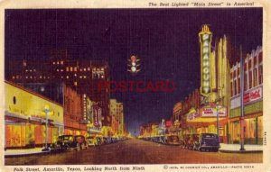 1952 POLK STREET, AMARILLO, TEXAS, NORTH FROM NINTH Paramount Theater