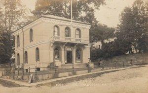RP; WALDOBORO , Maine , 1900-10s ; Post Office