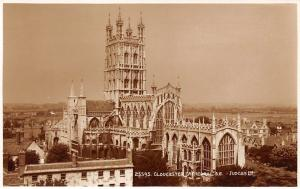 England Gloucester Cathedral from S.E. Good Wishes