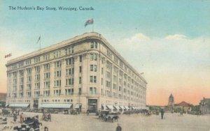 WINNIPEG , Manitoba , Canada , 1900-10s ; Hudson's Bay Store