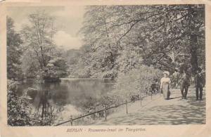 Rousseau- Insel Im Tiergarten, Berlin, Germany, 1900-1910s