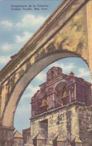 CIUDAD TRUJILLO , Rep. Dom. , 30-40s :  Campanario de la Catedral.
