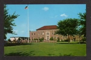 IL View Headquarters Chanute Air Force Base near RANTOUL ILLINOIS Postcard PC