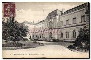 Old Postcard Montargis The Hotel de Ville