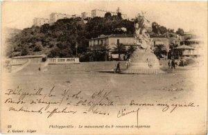CPA AK Geiser 33 PHILIPPEVILLE Le monument du 3e zouaves ALGERIA (756674)