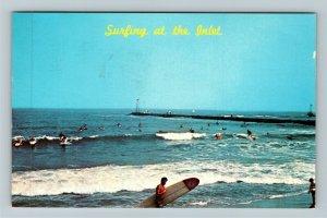 DE- Delaware, Indian River Inlet, Chrome c1968 Postcard