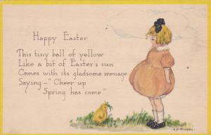 EASTER, PU-1918; Happy Easter, Poem