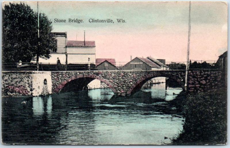 Clintonville, Wisconsin Postcard