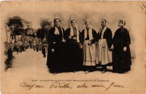 CPA Jeunes Filles de Pont-l'Abbé FRANCE FOLKLORE (789522)