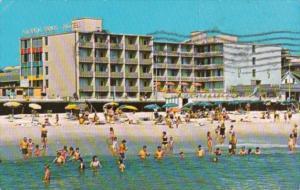 Atlantic Sands Motel Rehoboth Beach Delaware 1973
