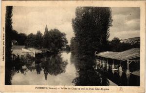 CPA POITIERS - Vallée du Clain en aval du Pont St-Cyprien (365668)