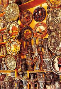 Morocco Poteries de Safi Alfareros de Safi Maroc Typique