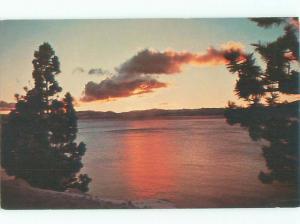 Pre-1980 LAKE SCENE Lake Tahoe California CA AE4117