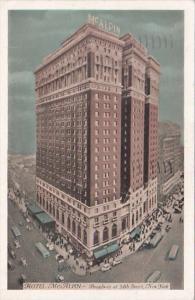 New York City Hotel McAlpin 1938