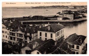 13206    Saint Jean de Luz     La Rade et la Digue de Sainte Barbe