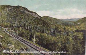 New Hampshire White Mountains Frankenstein Cliff And Mount Washington Crawfor...