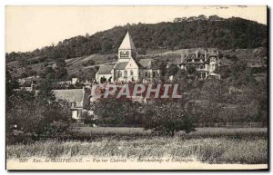 Old Postcard From Compiegne View On Clairoix