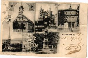 CPA MONTBÉLIARD le 22-10-1901 (183078)