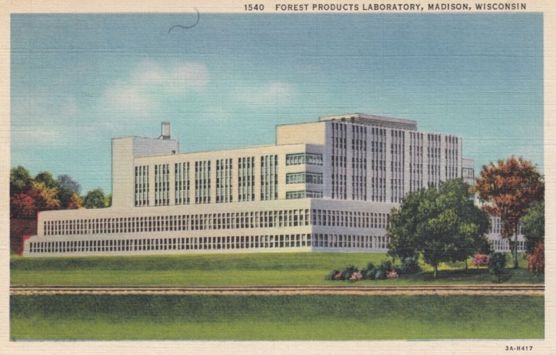 MADISON , Wisconsin , 1937 ; Forest Products Laboratory