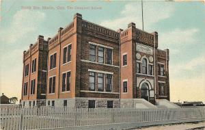 1907-1915 Postcard The Campbell School, Sault Ste. Marie Ontario Canada Unposted