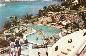 Vista desde el Hotel Majestic Acapulco Gro. Mexico Chrome